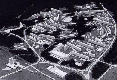 Viktor Rudiš: 60.léta - začátek a konec - Model sídliště Lesná v Brně