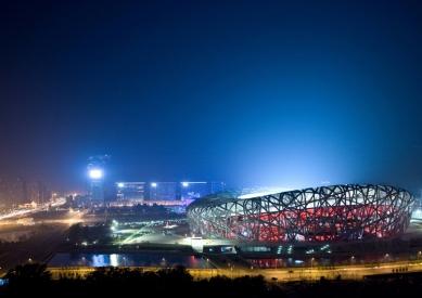 Lubetkinovou cenou byl oceněn olympijský stadion v Pekingu - Lubetkinova cena 2009: Národní stadion v Pekingu - Herzog & de Meuron - foto: © Iwan Baan