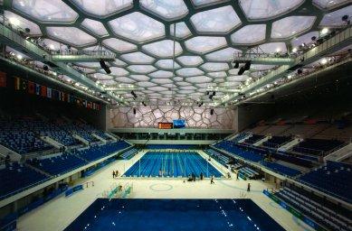 Lubetkinovou cenou byl oceněn olympijský stadion v Pekingu - Finalista: Národní plavecké centrum, Peking - PTW Architects - foto: © Ben MacMillan