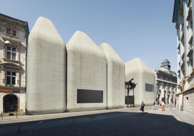 Středoevropské forum Olomouc - architektonická studie - SEFO, pohled od Univerzitní ulice - foto: © Design4function s.r.o.