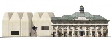 Středoevropské forum Olomouc - architektonická studie - SEFO, pohled z Denisovy ulice - foto: © Design4function s.r.o.