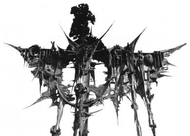 Středoevropské forum Olomouc - architektonická studie - Aleš Veselý, Kaddish – Modlitba za zemřelého, 1967–1968 (detail) - foto: © Design4function s.r.o.