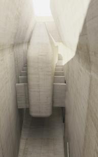 Středoevropské forum Olomouc - architektonická studie - Novostavba SEFO, výstavní prostor - foto: © Design4function s.r.o.