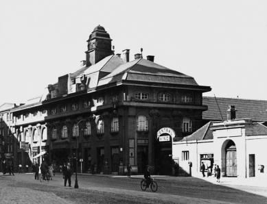 Středoevropské forum Olomouc - architektonická studie - Olomouc, Denisova ulice, 30. léta 20. století - foto: © Muzeum umění Olomouc