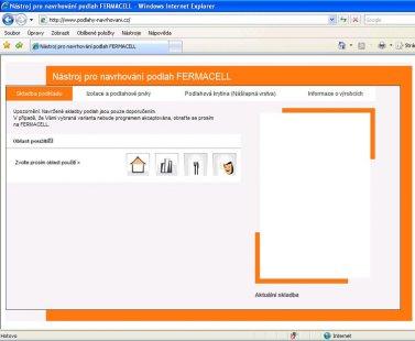 Nový softwarový nástroj pro navrhování podlah FERMACELL