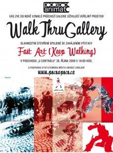 Osm umělců vystaví svá díla v podchodu v centru Hradce