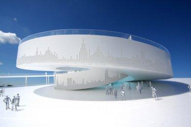 Dánský pavilon pro šanghajské Expo 2010 od BIG - Model - foto: B.I.G.