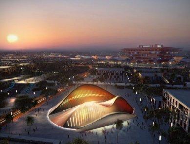 SAE pavilon pro šanghajské Expo 2010 od Foster + Partners - foto: Foster + Partners