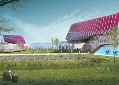 UNStudio zvítězilo v urbanistické soutěži na campus do Pekingu - foto: UN Studio
