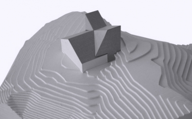 Projekt přestavby Rambertovy chaty od Bonnard Woeffray Architectes - Model - foto: BW Architectes