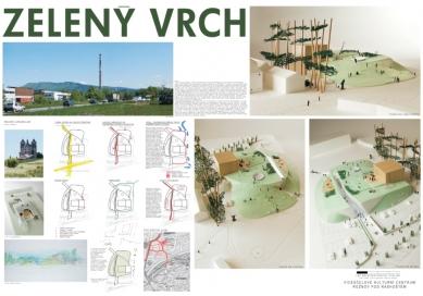 Výsledky soutěže na kulturní centrum v Rožnově pod Radhoštěm - 2. cena - foto: Ing. arch. Jan Línek - L & P architektonický ateliér