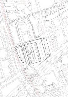 Začátek stavby tržnice v Rotterdamu od MVRDV - Situace - foto: MVRDV