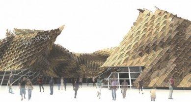 Španělský pavilon pro šanghajské Expo 2010 od EMBT - foto: EMBT