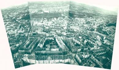 Věčný Žižkov - výstava věnovaná asanaci městské čtvrti - Realizovaná část přestavby - foto: Archiv ÚRM