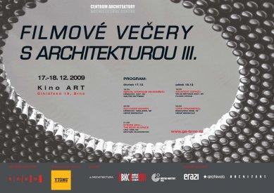 Brněnské Filmové večery s architekturou III.