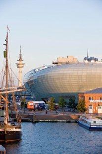 Dům klimatu 8°Ost vněmeckém Bremerhavenu zve na cestu kolem světa za jediný den