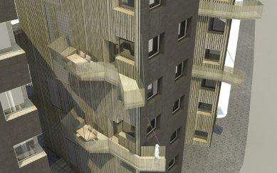 JKF 2010 - první místo v kategorii dům - Balkony - foto: Jan Veisser