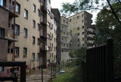 JKF 2010 - první místo v kategorii dům - Pohled z vnitrobloku - foto: Jan Veisser