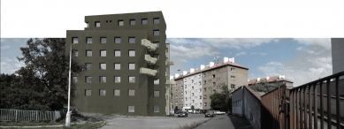 JKF 2010 - první místo v kategorii dům - Zákres do fotografie - foto: Jan Veisser