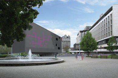 JKF 2010 - třetí místo v kategorii urbanismus - Vizualizace - foto: Kateřina Fryzelková