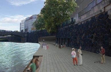 JKF 2010 - třetí místo v kategorii urbanismus - Vizualizace nábřeží - foto: Kateřina Fryzelková