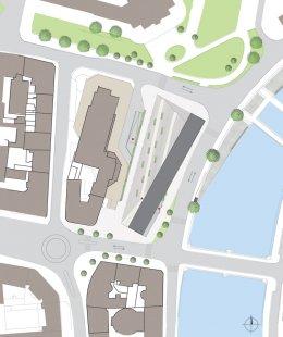 JKF 2010 - třetí místo v kategorii urbanismus - Situace - foto: Kateřina Fryzelková