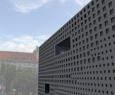 JKF 2010 - třetí místo v kategorii urbanismus - Obvodový plášť - foto: Kateřina Fryzelková