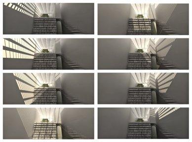 JKF 2010 - druhé místo v kategorii dům - Sluneční studie v průběhu dne - foto: Theresa Kjellberg