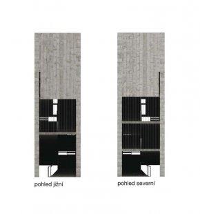 JKF 2010 - druhé místo v kategorii urbanismus - Zeď - pohledy jižní a severní - foto: Jan Vybíral
