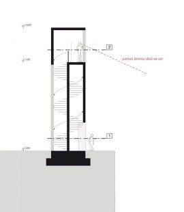 JKF 2010 - druhé místo v kategorii urbanismus - Věž - řez - foto: Jan Vybíral