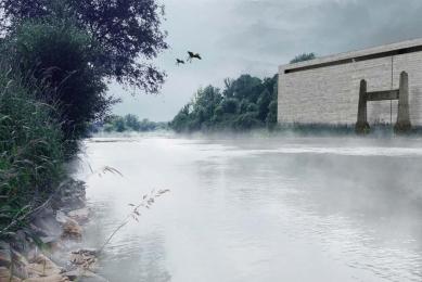 JKF 2010 - druhé místo v kategorii urbanismus - Pohled od řeky - foto: Jan Vybíral