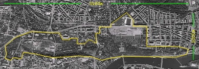 Masterplan severního předpolí Pražského hradu – Letenských sadů - foto: Michal Krejčík