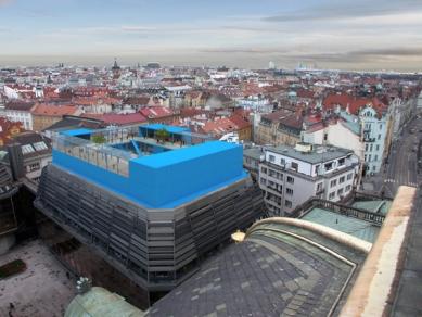 kruh 2010 jaro: Bez Hranic - Školka na střeše Nové scény ND - foto: Marek Přikryl a Martin Prokš