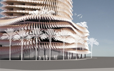 Magnolia Tower v Dubaji od Sadar Vuga Arhitekti - foto: Sadar Vuga Arhitekti