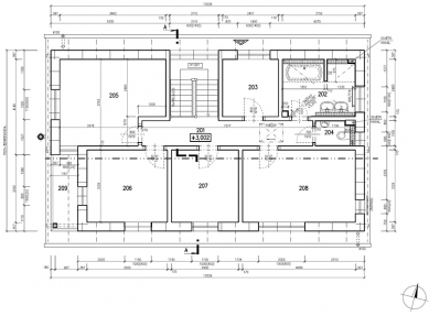 RD Rýmařov postavil pasivní dům sdifúzně otevřenou konstrukcí, který vznikl na bázitypového projektu domu Kubis Lumio - Půdorys 2NP