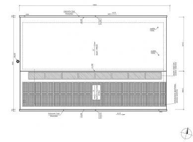 RD Rýmařov postavil pasivní dům sdifúzně otevřenou konstrukcí, který vznikl na bázitypového projektu domu Kubis Lumio - Půdorys střechy