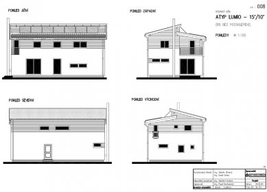 RD Rýmařov postavil pasivní dům sdifúzně otevřenou konstrukcí, který vznikl na bázitypového projektu domu Kubis Lumio - Pohledy
