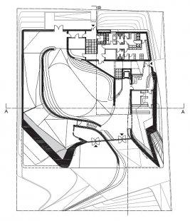 Rakouský pavilon pro šanghajské EXPO 2010 od SPAN - Půdorys přízemí - foto: SPAN & Zeytinoglu Architects