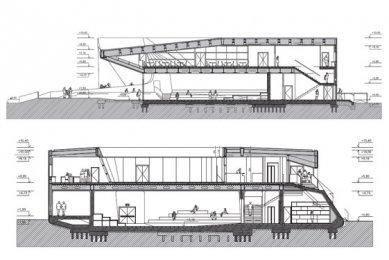 Rakouský pavilon pro šanghajské EXPO 2010 od SPAN - Řezy - foto: SPAN & Zeytinoglu Architects