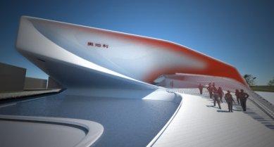 Rakouský pavilon pro šanghajské EXPO 2010 od SPAN - foto: SPAN & Zeytinoglu Architects
