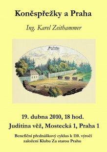 Klub Za starou Prahu: program akcí na duben 2010 - foto: Klub Za starou Prahu