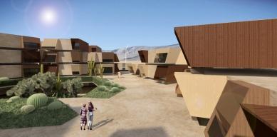 Sídliště v texaském El Paso od OFIS arhitekti - foto: OFIS arhitekti