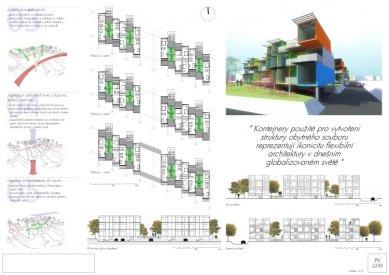 Novinka: Nízkoenergetický modul na stavebním veletrhu IBF 2010 v Brně - 2. místo: Vojtěch Hajný (FSv ČVUT v Praze), Pavel Rak (Ecole d´Architecture v Marna la Valée)