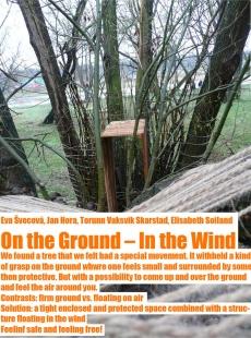 Výsledky studentského workshopu Trojská louka - On the Ground - In the Wind / Na zemi – ve větru