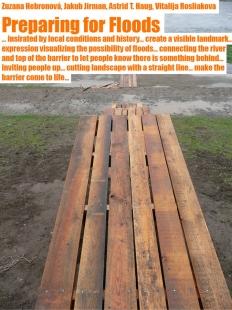 Výsledky studentského workshopu Trojská louka - Preparing for Floods / Příprava na povodeň