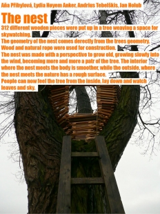 Výsledky studentského workshopu Trojská louka - The Nest / Hnízdo