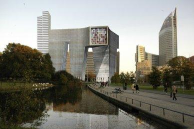 Projekt Koningin Julianaplein v Haagu od OMA - foto: Office for Metropolitan Architecture