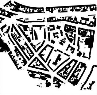 Diakonie v Düsseldorfu od baumschlager eberle architekten - Situace - foto: Baumschlager Eberle, Lochau