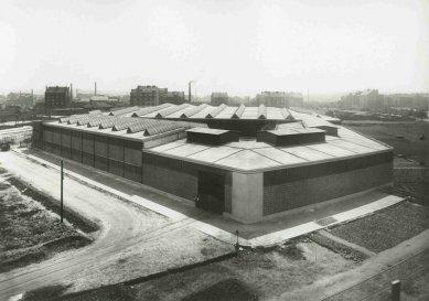 Holešovický meziválečný areál Ferra v ohrožení - Dobový snímek - foto: archiv VCPD ČVUT