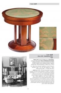 Aukce unikátního nábytku Adolfa Loose - foto: Aukční dům Sýpka